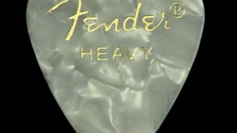 Fender Celluloid Heavy Picks