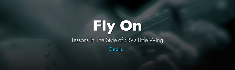 Fly On Lessons In The Style Of SRV's Little Wing