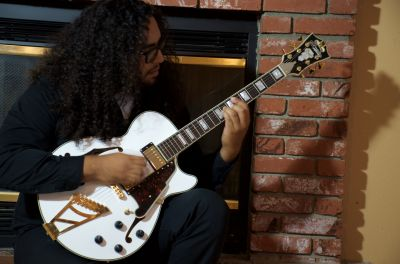 D'Angelico Guitar Giveaway Winner
