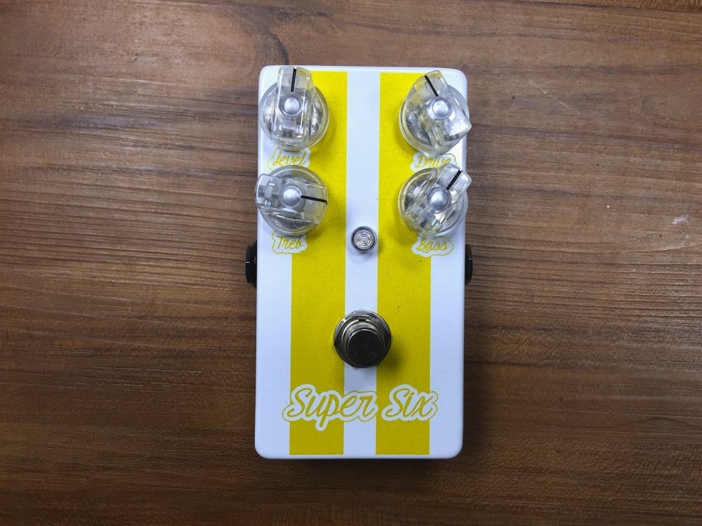 "Lovepedal Super Six ""Stevie"" Mod"