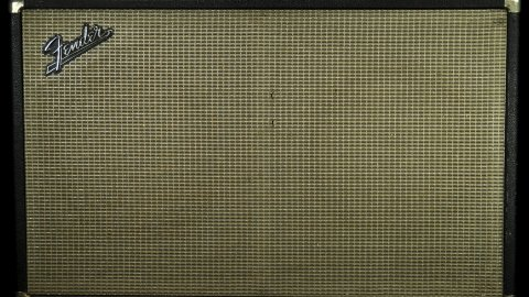60s Fender Bassman 2x12 Cabinet