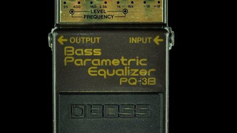 Boss PQ-3B Bass Parametric EQ