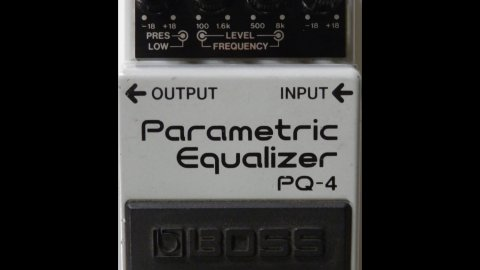 Boss PQ-4 Parametric EQ