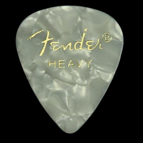 Fender Celluloid Heavy Picks