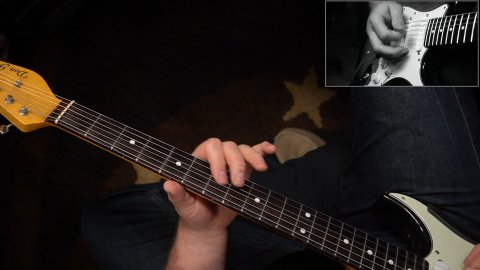 Blues Guitar Lessons - Buddy Guy - Sweet Home Chicago Walkdown Lick