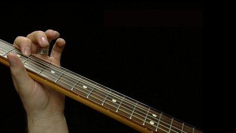 Blues Guitar Lessons - A Simplified SRV Texas Flood V Chord Lick