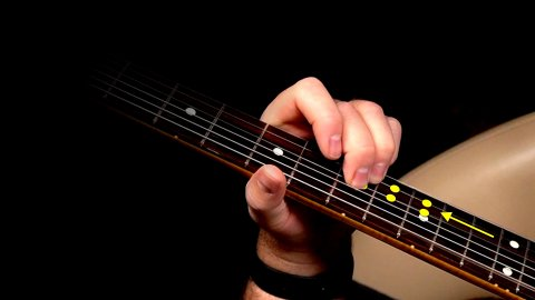 Blues Guitar Lessons - A Classy IV Chord Transition For Blues Guitar