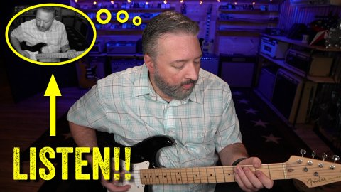 Blues Guitar Lessons - The Rhythm In Your Head (should never stop)