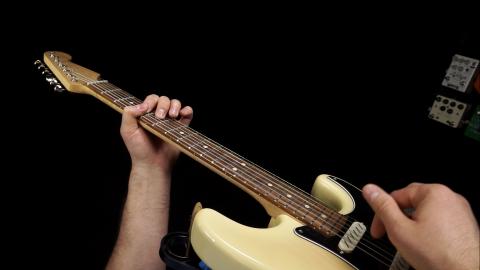 Blues Guitar Lessons - Born Under A Bad Sign Rhythm Guitar