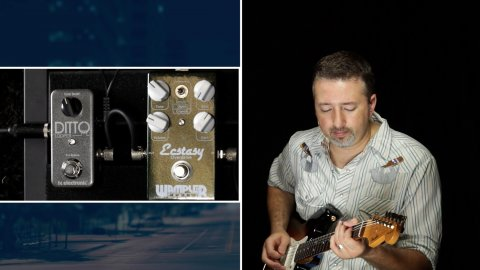 Blues Guitar Lessons - Taming The Ditto Looper For Blues