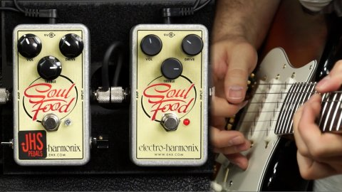 Blues Guitar Lessons - JHS / EHX Soul Food Shootout
