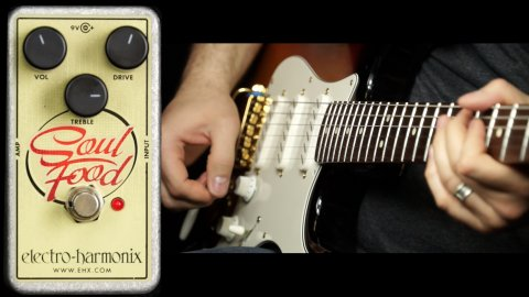 Blues Guitar Lessons - EHX Soul Food Demo