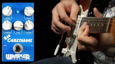 Blues Guitar Lessons - Wampler Ego Compressor Demo