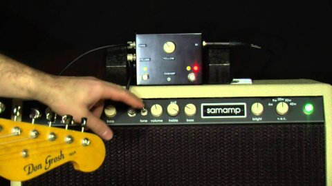 Blues Guitar Lessons - Samamp VAC 40 Series 2 Demo