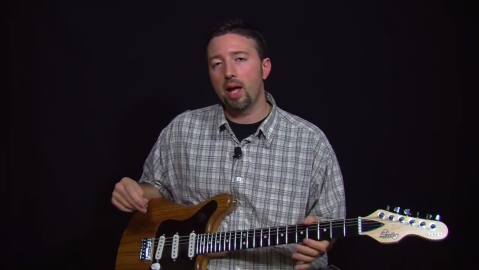 Blues Guitar Lessons - Stauffer Guitars Legend Model Profile