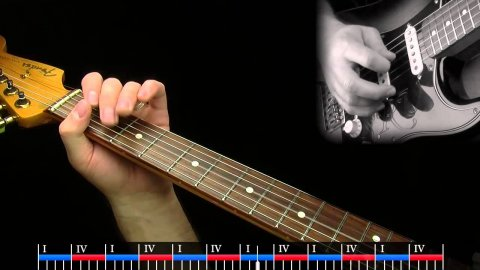 Blues Guitar Lessons - Love Again - Advanced Lesson Solo