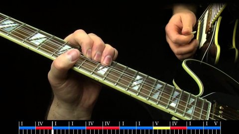Blues Guitar Lessons - Freddie's Influence - Slow Blues - Lesson 1