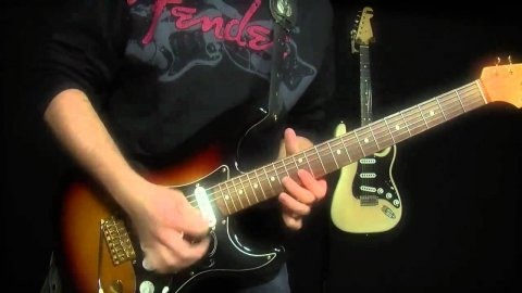 Blues Guitar Lessons - Fender SRV Strat - Testify Demo