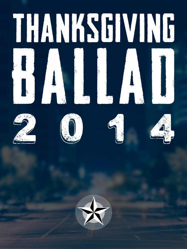 Thanksgiving Ballad 2014