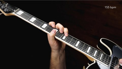 Blues Guitar Lessons - Johnny Winter - You're Humbuggin' Me, 1:45