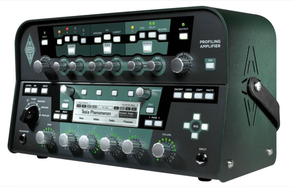 Kemper Profiler - TXBA Gear Index