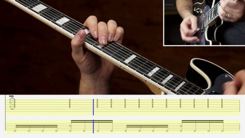 Blues Guitar Lessons - Funk Blues Rhythm Vol. 1 - Lesson 1