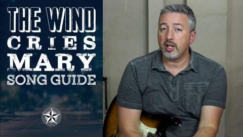 Blues Guitar Lessons - The Wind Cries Mary Song Guide - Lesson 1