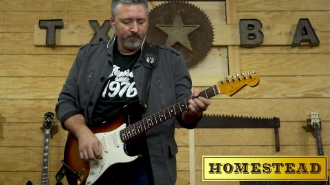 Blues Guitar Lessons - The Texas Storm 1x15 Combo from Homestead Amps