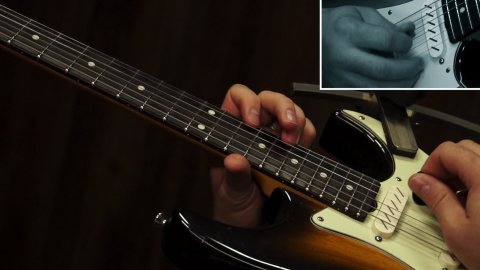 Blues Guitar Lessons - Eric Gales - I Don't Know, 2:26