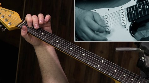 Blues Guitar Lessons - How To Play That I Chord Embellishment In Pride And Joy