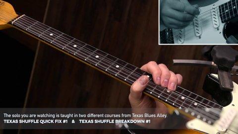 Texas Shuffle Blues Solo Performance