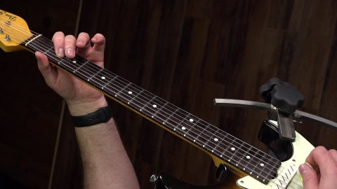 "Blues Guitar Lessons - Blues ""Power"" Shuffle Lesson"