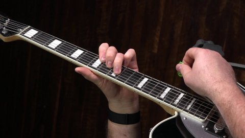 Blues Guitar Lessons - Jump Blues Rhythm In B