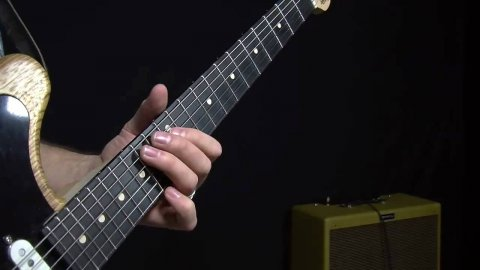 Blues Guitar Lessons - Voodoo Child Sliding Chords