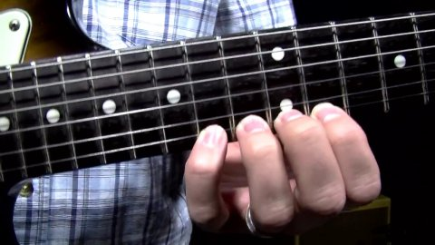 Blues Guitar Lessons - Spider Drills