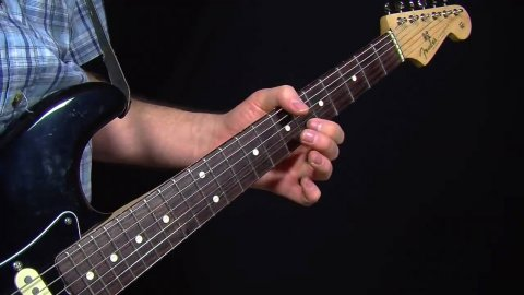 Blues Guitar Lessons - SRV Leave My Girl Alone Lick - ACL Version