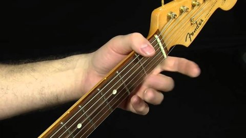 Blues Guitar Lessons - Rude Mood Picking Drill