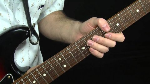 Blues Guitar Lessons - 4 Fret Albert King Style Bends
