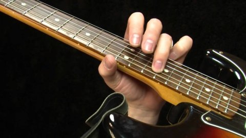 Blues Guitar Lessons - Lenny 2 Note Chords Lick
