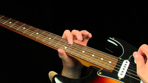 Blues Guitar Lessons - Cliffs Of Dover Blues Lick