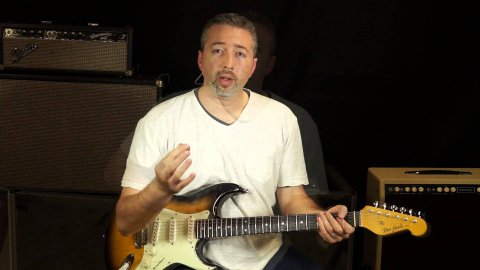 Blues Guitar Lessons - Tin Pan Alley IV And V Tips