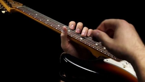 Blues Guitar Lessons - SRV Hideaway Chord Break