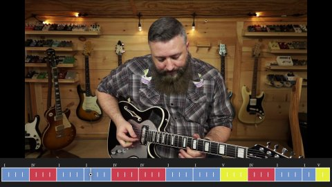 Blues Guitar Lessons - How To Make Sure You're Playing In The Right Key For Blues