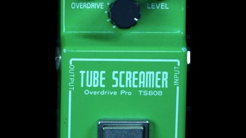 Blues Guitar Lessons - Ibanez TS808 Vintage Tube Screamer Reissue