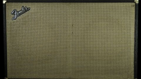 Blues Guitar Lessons - 60s Fender Bassman 2x12 Cabinet