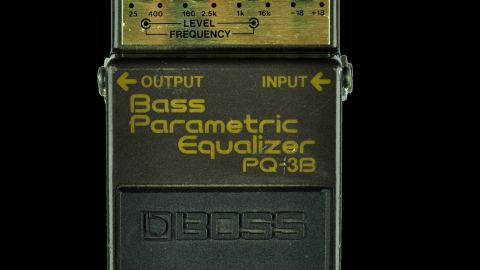 Blues Guitar Lessons - Boss PQ-3B Bass Parametric EQ