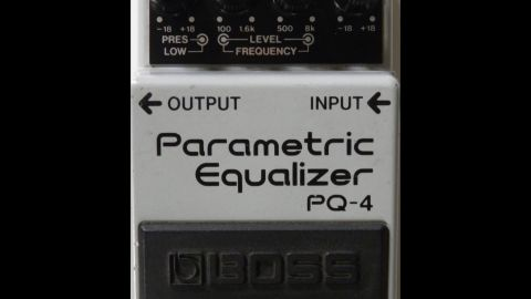 Blues Guitar Lessons - Boss PQ-4 Parametric EQ