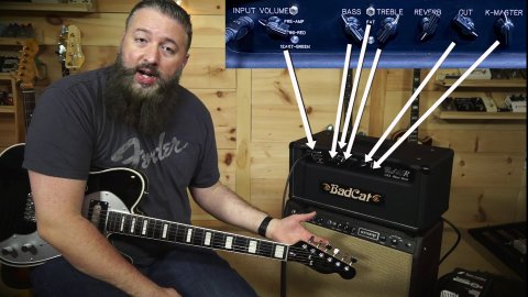 Blues Guitar Lessons - Bad Cat Cub 40R On Ten