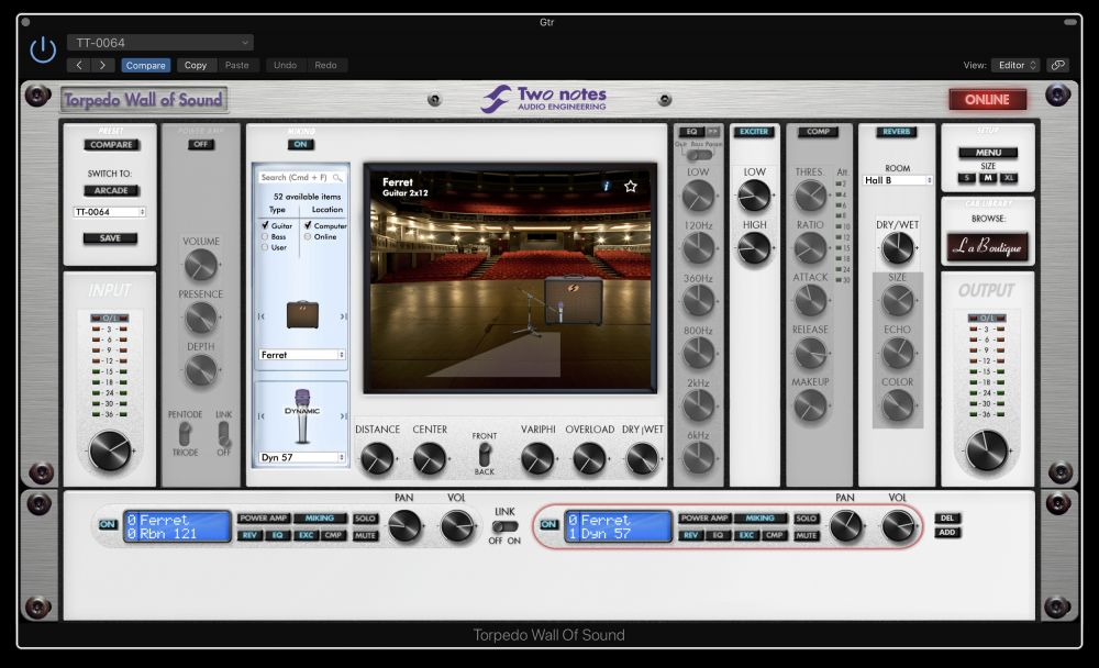 Two Notes Wall Of Sound Plugin
