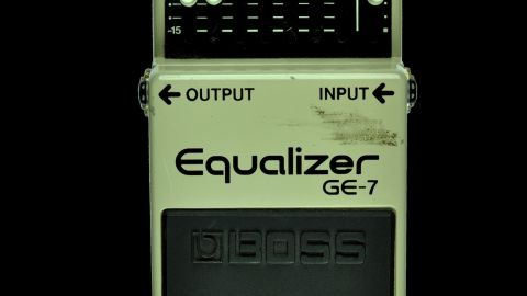 Blues Guitar Lessons - Boss GE-7 Graphic Equalizer
